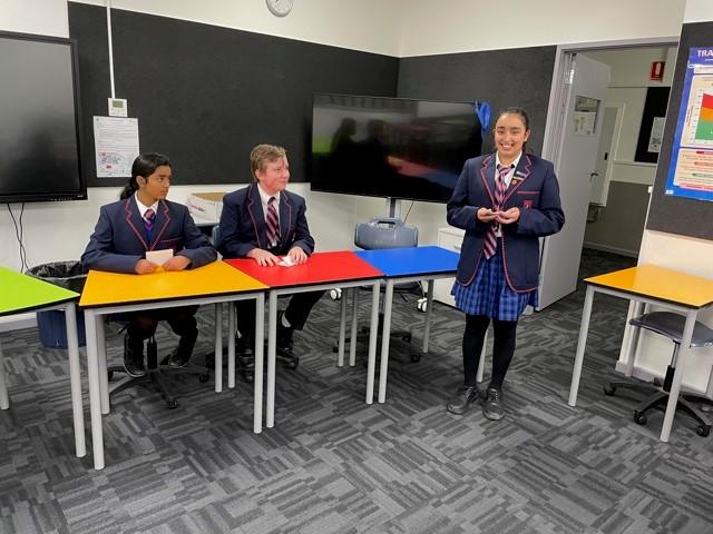 Students at Debating